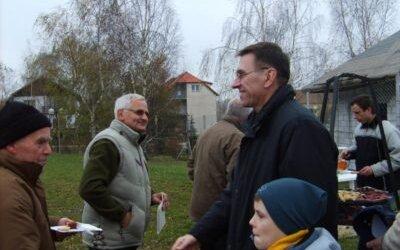 Spotkanie integracyjne 11 listopada 2007 na Osiedlu Brzeziny