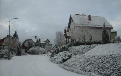 Brzeziny zimą – styczeń 2009