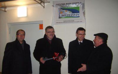 Otwarcie siedziby Rady Osiedla Brzeziny – 5 stycznia 2010