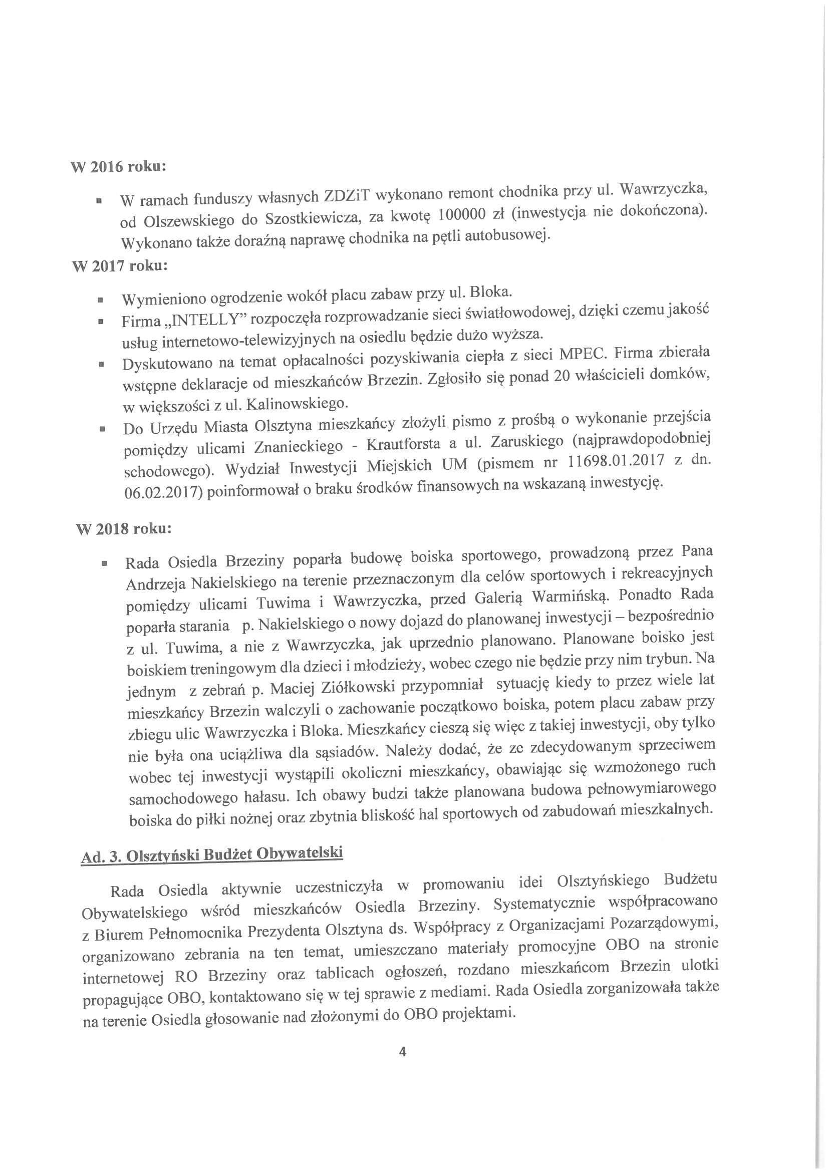 Sprawozdanie z działalności RO w latach 2015-2019-04