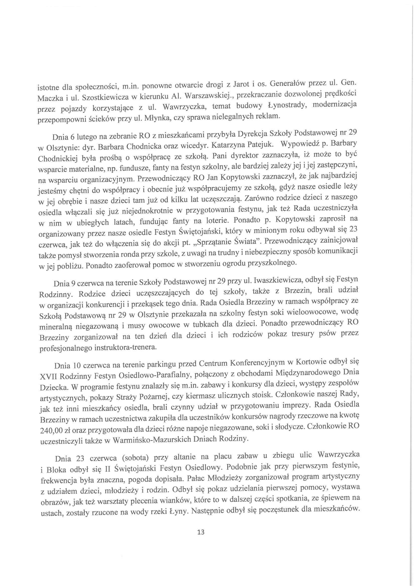 Sprawozdanie z działalności RO w latach 2015-2019-13