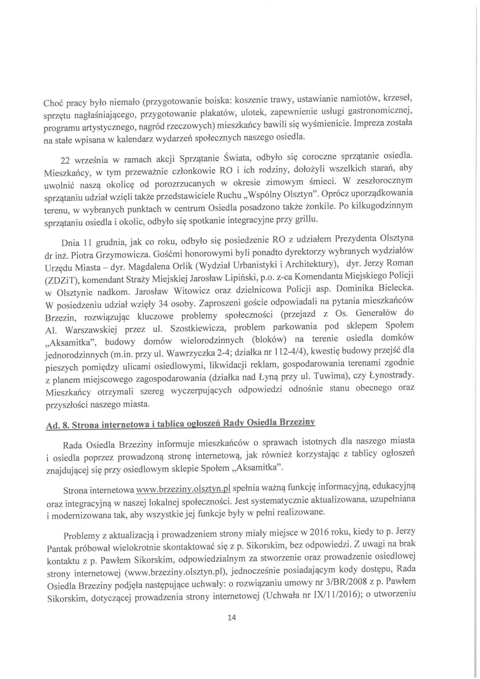 Sprawozdanie z działalności RO w latach 2015-2019-14